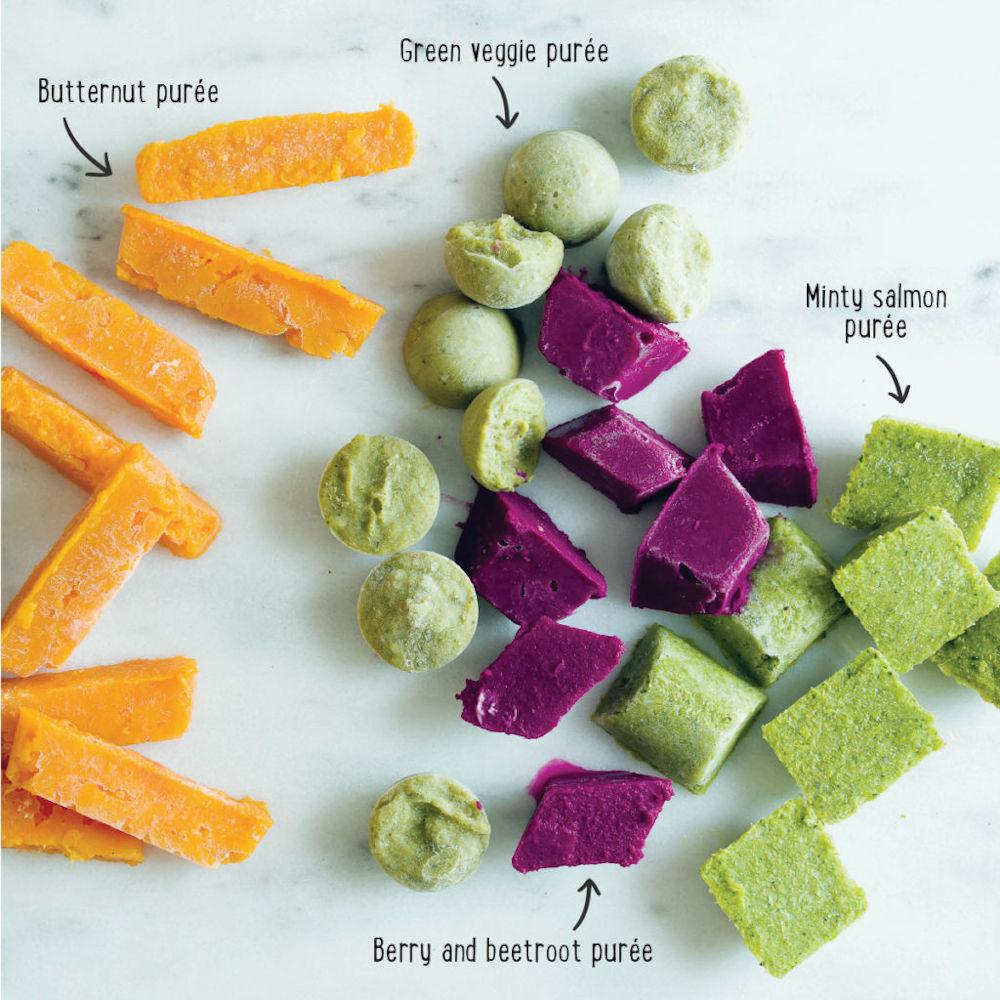 frozen pureed food examples